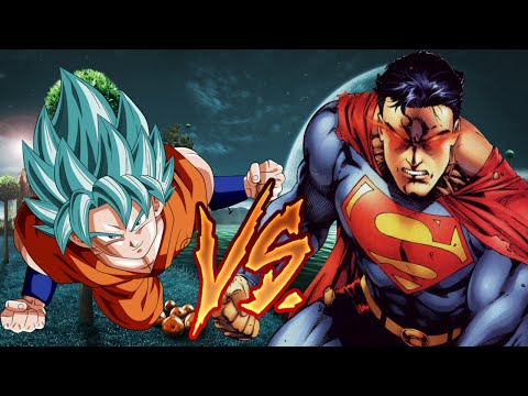 DEATH BATTLE: Goku vs Superman Part 2 | Review -- Could it Have Ended Another Way?