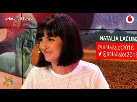 Natalia Lacunza nos presenta su primera canción #NataliaOTenyu