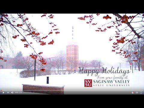 SVSU Holiday Greetings 2017