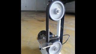 DIY  Mini Belt Sander Levigatrice Sbavatrice A Nastro