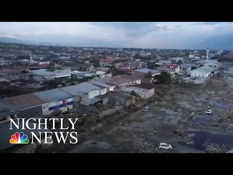 Desperate Search Continues After Indonesian Earthquake And Tsunami | NBC Nightly News