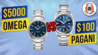$5000 Omega v $100 Pagani - How Close Does The Pagani 'Aqua Terra' Get?