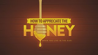 How to Appreciate the Honey When You Live in the Hive