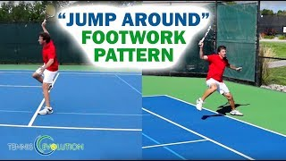 Tennis Footwork: Improve Your Tennis Backhand Skills With The Jump Around Technique