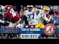 LSU vs. Alabama Highlights | Tigers take down Tide in INSTANT CLASSIC | CBS Sports
