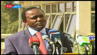 NASA Co-Principal Kalonzo Musyoka shares remarks on IEBC Election readiness
