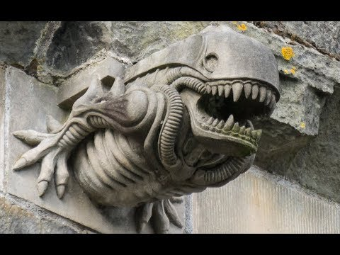 Why is There an Alien Gargoyle in Scotland?