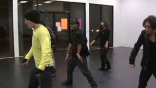 "JRandall ""Spirit of the Radio"" Dance Rehearsals"
