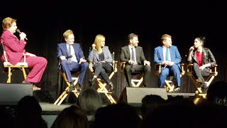 Ron Burgundy interviews Conan O'Brien, J Kimmel, S Silverman, J Corden, S Bee #RonBurgandy #TeamCOCO