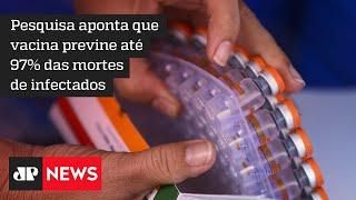 CoronaVac é a vacina que mais previne mortes por Covid-19, diz pesquisa de ex-secretário
