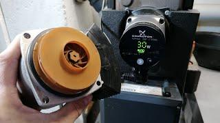 Heizungspumpe Motor wechseln