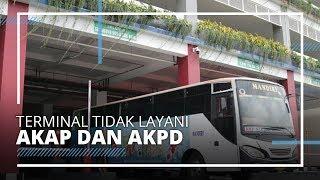 PSBB Diperpanjang hingga 8 Juni 2020, Terminal di Surabaya Tidak Layani Angkutan AKAP dan AKDP