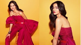 Ananya Panday Flaunts Her Sparkling Diamond Ring Post Her Dance Rehearsals | SpotboyE