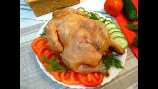 Курица в духовке на соли! | Простые рецепты
