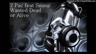 2Pac featuring Snoop - Wanted Dead or Alive (Cutie Pie remix)