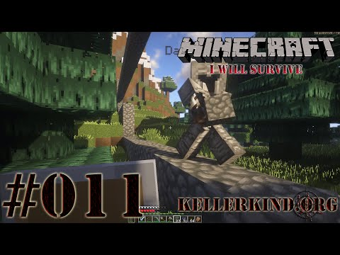 Minecraft: I will survive #011 - Zauberhafte Mauer ★ Let's Play Minecraft [HD|60FPS]