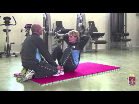 Schedario di esercizi di prevenzione di scoliosis