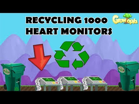 Growtopia - Recycling 1000 Heart Monitors