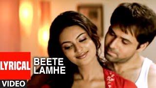 """Beete Lamhe"" Lyrical Video Song    The Train   K.K.   Mithoon   Emraan Hashmi, Geeta Basra"