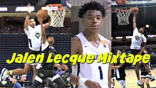 Is Jalen Lecque The NEXT Russell Westbrook?! EYBL 2018 Mixtape