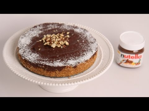 No Bake Nutella Cheesecake Recipe – Laura Vitale – Laura in the Kitchen Episode 500