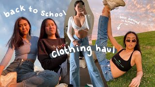 $900 Back To School Clothing Haul (from Beginning Boutique)