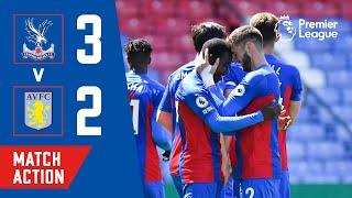 Crystal Palace 3-2 Aston Villa Pekan 36