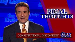 The Summer of Constitutional Discontent