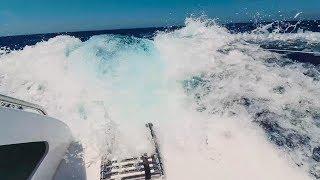 SCARED FOR MY LIFE! Sailing at 22 knots boat speed down HUGE waves (Sailing La Vagabonde) Ep. 105
