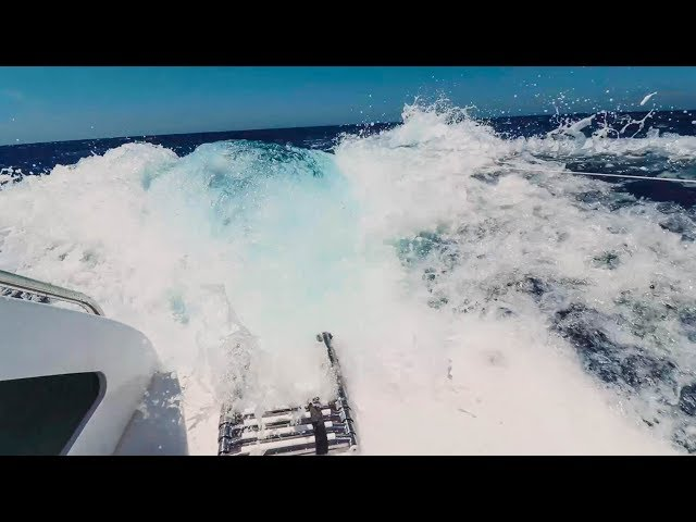 SCARED FOR MY LIFE! Sailing at 22 knots boat speed down HUGE waves (Sailing La Vagabonde) Ep. 105