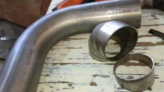 custom exhaust Pie cuts versus mandrel bends