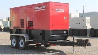 200 kW Baldor Diesel Generator Set Unit 87346
