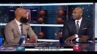 GameTime - Thunder Vs Rockets Postgame Analysis | February 9, 2019