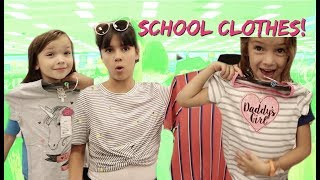Back TO SCHOOL CLOTHES SHOPPING for 6 kids! WE SPENT TOO MUCH MONEY!