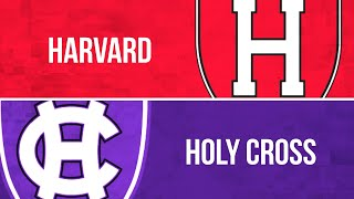 PLN Classic: Men's Lacrosse, Harvard at Holy Cross (Feb. 20, 2020)