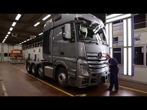 Mercedes-Benz Custom Tailored Trucks -- Molsheim Plant Mp3