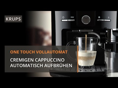 EA8298 Krups One Touch Vollautomat - Cappuccino Genuss