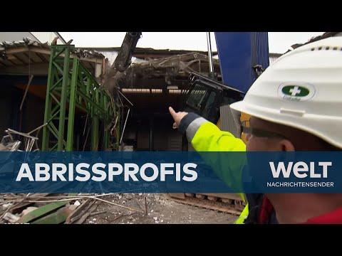 Bagger, Schutzhelm, Presslufthammer: Abrissprofis im Einsatz | Doku