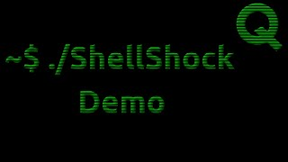 ShellShock Attack Demonstration