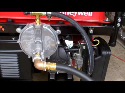Portable Generator Conversion to Natural Gas & Propane