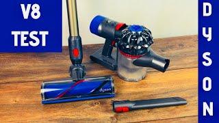 Dyson V8 Akku Staubsauger - Test & Fazit