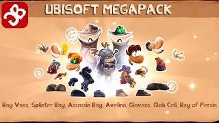 Rayman Adventures - UNLOCK UBISOFT MEGAPACK (Adventure 194 -195) Gameplay Video - Part 91