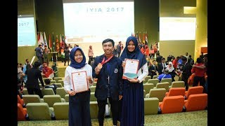 Tiga Mahasiswa UM Raih Gold Medal Diajang The 4th International Young Inventors Award (IYIA)