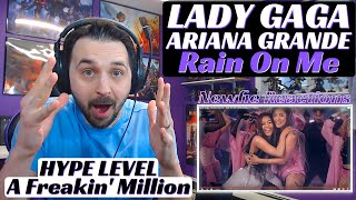 Lady Gaga Rain On Me Music Video Reaction | Ariana Grande