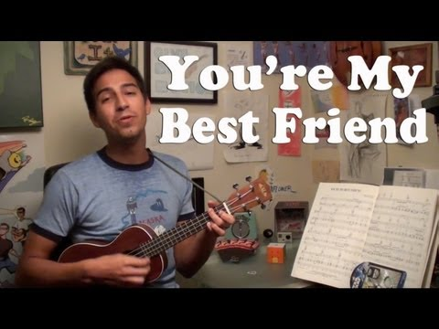 You're My Best Friend Chords And Lyrics Queen