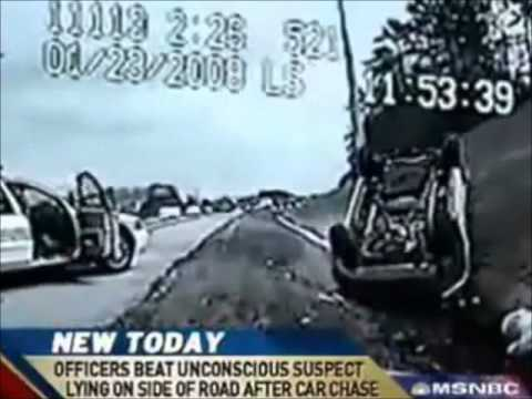 News Report Police Beatdown and Brutalize Citizens