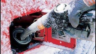 Зимой лучше заливать АИ-92 бензин вместо АИ-95