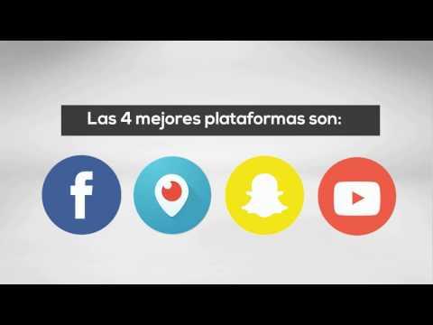 Las 4 mejores plataformas para vídeos en directo