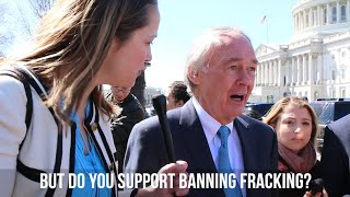 Senate Co-sponsor of Green New Deal Doesn't Support Ban on Fracking