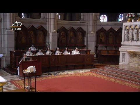 Prière du Milieu du jour du 9 septembre 2021 des Bénédictines du Sacré-Coeur de Montmartre